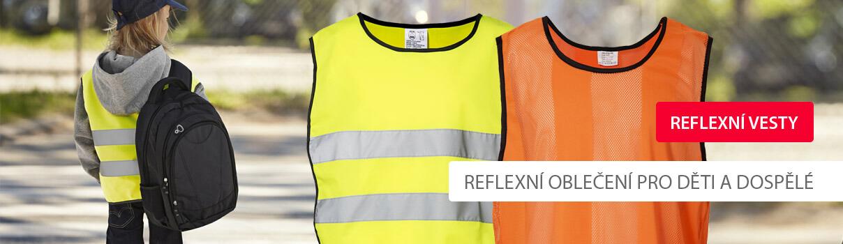 Reklamní textil ID - reflexní oděvy