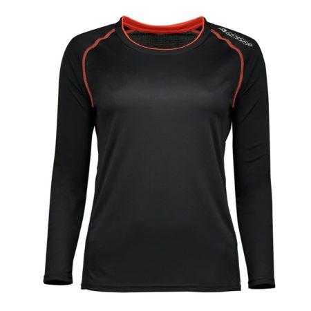 Dámské tričko s dlouhým rukávem Urban, ID G11068, černá 1