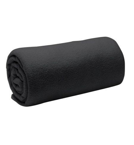 Fleecová deka, ID 0076, černá 1
