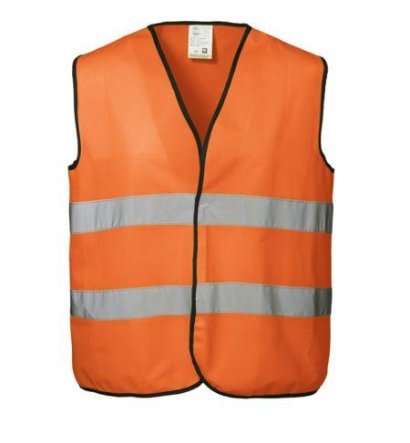 Pracovní vesta EN 20471, ID 1900, fluorescenční oranžová 1