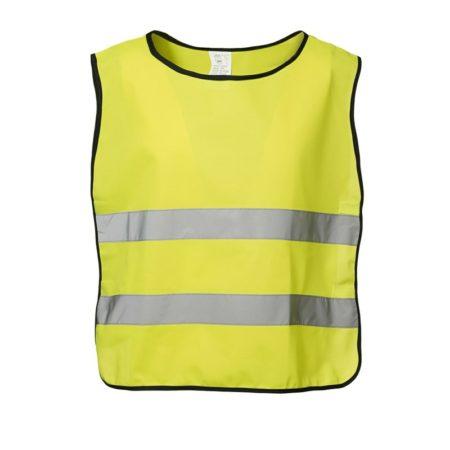 Reflexní vesta EN 1150, ID 1902, Fluorescenční žlutá 1