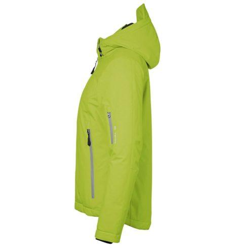 Zimní dámská softshellová bunda GAME, ID 0899, limetková 2