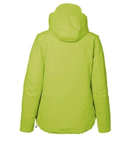 Zimní dámská softshellová bunda GAME, ID 0899, limetková 3