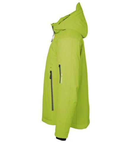 Zimní pánská softshellová bunda GAME, ID 0898, limetková 2