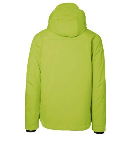 Zimní pánská softshellová bunda GAME, ID 0898, limetková 3