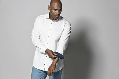 Contrast Košile s dlouhým rukávem, ID 0258, bílá 4