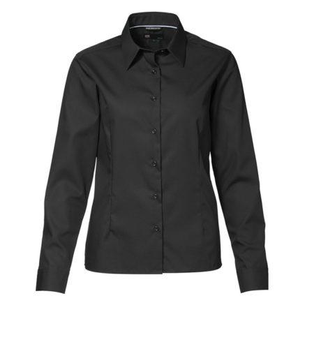 Dámská košile EASY IRON, ID 0257 černá 1