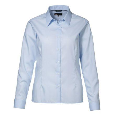 Dámská košile EASY IRON, ID 0257, světle modrá 1