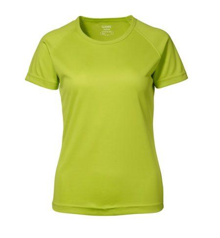 Dámské tričko GAME Active, ID 0571, limetková 1
