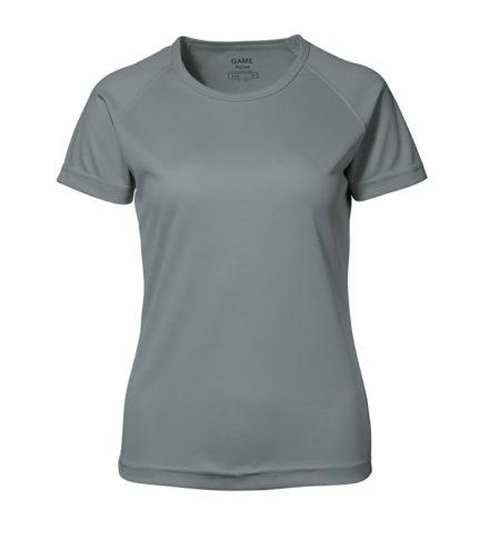 Dámské tričko GAME Active, ID 0571, šedá 1