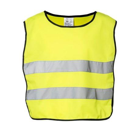 Dětská reflexní vesta EN 1150, ID 41902, fluorescenční žlutá 1