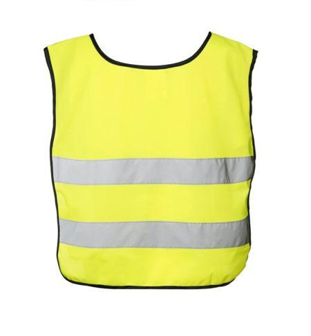 Dětská reflexní vesta EN 1150, ID 41902, fluorescenční žlutá 2