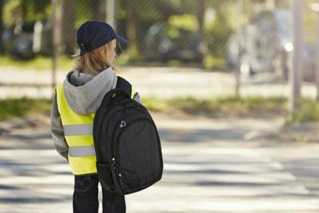 Dětská reflexní vesta EN 1150, ID 41902, fluorescenční žlutá 3