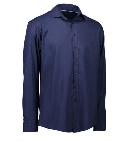 Easy Iron košile s dlouhým rukávem ID 0262 navy 1