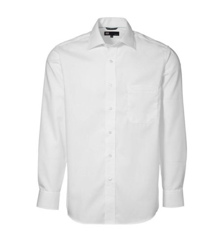 Exclusive poplin Košile s dlouhým rukávem, ID 0256, bílá 1
