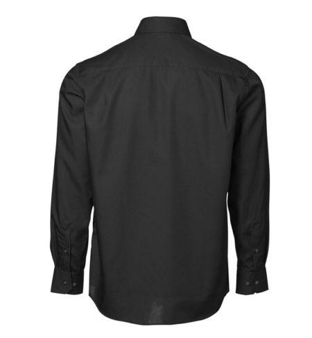 Exclusive poplin Košile s dlouhým rukávem, ID 0256, černá 3