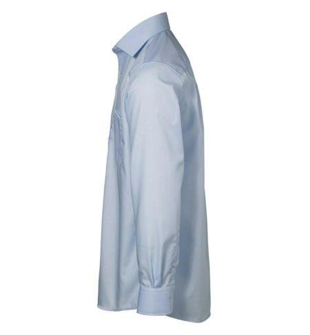 Exclusive poplin Košile s dlouhým rukávem, ID 0256, světle modrá 2