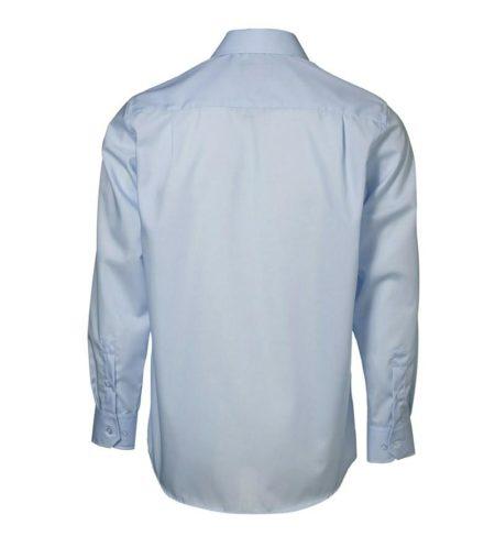 Exclusive poplin Košile s dlouhým rukávem, ID 0256, světle modrá 3