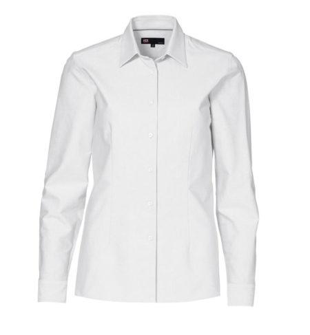 Oxford damská košile s dlouhým rukávem, ID 0271, bílá 1