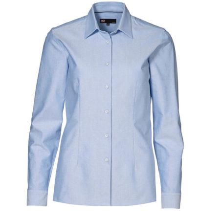 Oxford damská košile s dlouhým rukávem, ID 0271, světle modrá 1