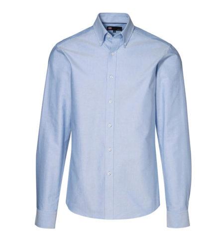 Oxford košile s dlouhým rukávem, ID 0270, světle modrá 1