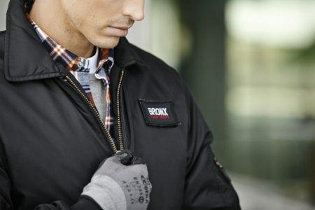 Pracovní kostkovaná košile s dlouhým rukávem, ID 0204, oranžová 5